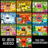 Jeux TNI AUDIO - ENSEMBLE COMPLET - Jouons avec les sons (Tous types de TNI)