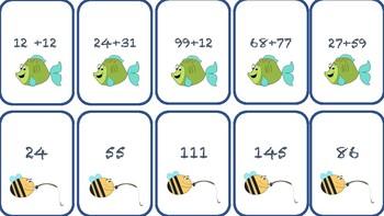 Jeux d'addition à deux nombres