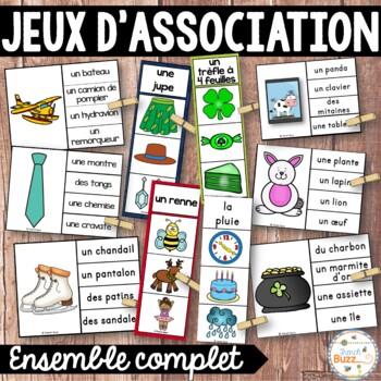 Jeux d'association - Ensemble