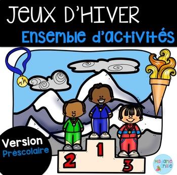 Jeux d'hiver Ensemble (maternelle) /French winter games Kindergarden