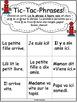 """Jeux de Mots (Le son """"i"""") Ateliers, No Prep, French Phonic"""