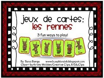 {Jeux de cartes} Les Rennes!