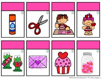 Jeux de cartes - St-Valentin