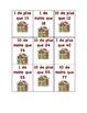 Jeux de math sur les dizaines et unités. Thème: Noël