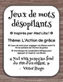 Jeux de mots désopilants - L'Action de grâce (Inspirés par