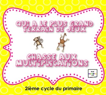 Jeux interactifs de multiplcations/SmartBoard/TBI/TNI