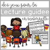 Jeux pour la lecture guidée  (FRENCH Sound Blend Guided Reading Activities)