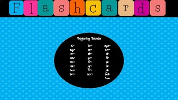 Jewel Box Flashcards/ Beginning Blends
