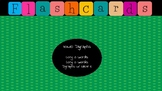 Jewel Box Flashcards/Vowel Digraphs long o a & silent e