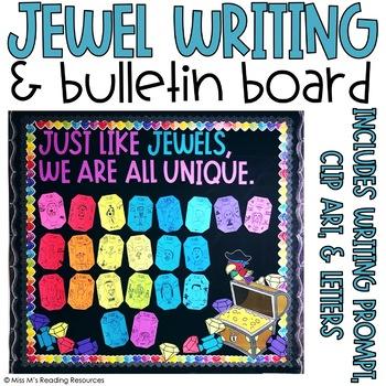 Jewel Bulletin Board & Writing Project
