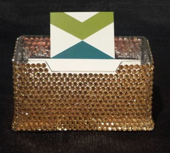 Jeweled Business Card Holders $11.99 each