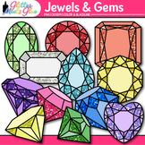 Jewels & Gems Clip Art {Great Pirate and Treasure Chest Graphics for Brag Tags}