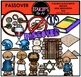 Jewish Celebrations Clip Art Mega Bundle {Educlips Clipart}