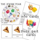 Jewish Holidays Bundle, Jewish Holidays Calendar and Monte