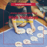 Jewish Montessori Style - High Holidays Activity Bundle