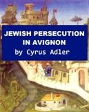 Jewish Persecution in Avignon
