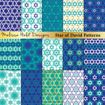 Jewish Star Patterns
