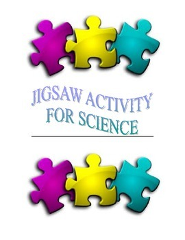 Jigsaw Activity for Science class