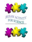 Jigsaw Activity for Science class