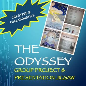 The Odyssey - Creative Group Project & Presentation Jigsaw