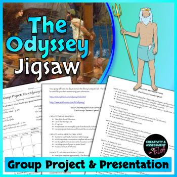The Odyssey - Creative Group Project & Presentation Jigsaw