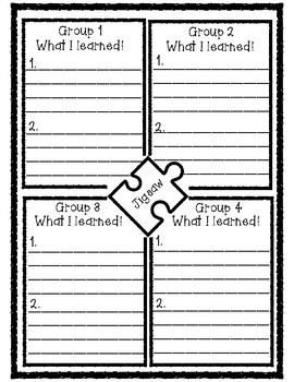Jigsaw Accountability Form