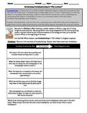 """Jigsaw Activity (5 Close Reading Worksheets) on Shirley Jackson's """"The Lottery"""""""