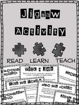 Jigsaw Activity- Framework for Presentation Project