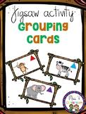 Jigsaw Activity Grouping Cards
