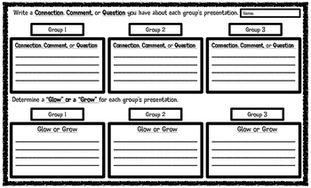 Jigsaw Group Accountability Form