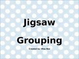 Jigsaw Grouping