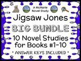 Jigsaw Jones BIG BUNDLE (Preller) 10 Novel Studies : Books #1 - 10  (282 pages)