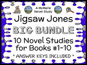 Jigsaw Jones BIG BUNDLE (James Preller) 10 Novel Studies :