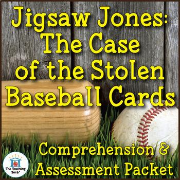 Jigsaw Jones Case of the Stolen Baseball Cards Comprehensi