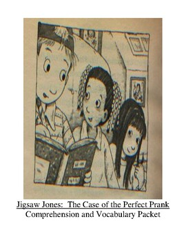 Jigsaw Jones Mystery-The Case of the Perfect Prank Guided