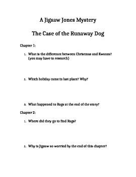 Jigsaw Jones Mystery: The Case of the Runaway Dog