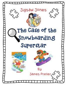 Jigsaw Jones: The Case Of The Snowboarding Superstar-A Com