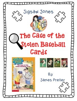 Jigsaw Jones: The Case Of The Stolen Baseball Cards-A Comp