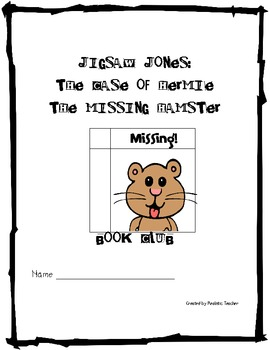 Jigsaw Jones: The Case of Hermie the Missing Hamster Book Club