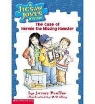 Jigsaw Jones: The Case of Hermie the Missing Hamster Comprehension Packet
