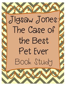 Jigsaw Jones The Case of the Best Pet Ever