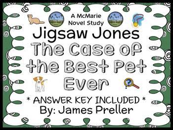 Jigsaw Jones: The Case of the Best Pet Ever (James Preller) Novel Study