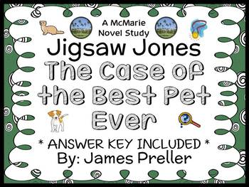 Jigsaw Jones: The Case of the Best Pet Ever (James Preller) Novel Study