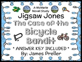Jigsaw Jones: The Case of the Bicycle Bandit (James Preller) Novel Study