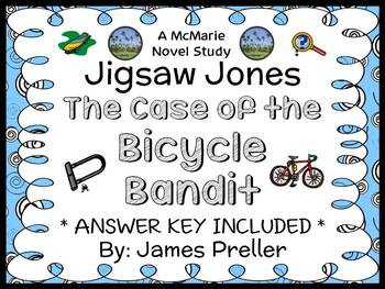Jigsaw Jones: The Case of the Bicycle Bandit (James Preller) Novel Study