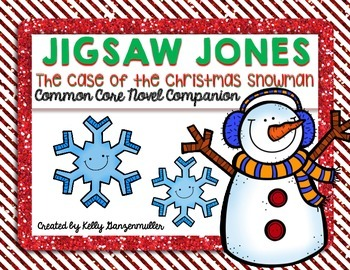 Jigsaw Jones-The Case of the Christmas Snowman Novel Companion