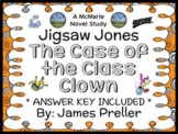 Jigsaw Jones: The Case of the Class Clown (Preller) Novel Study / Comprehension