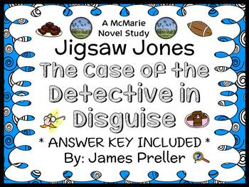 Jigsaw Jones: The Case of the Detective in Disguise Novel Study / Comprehension