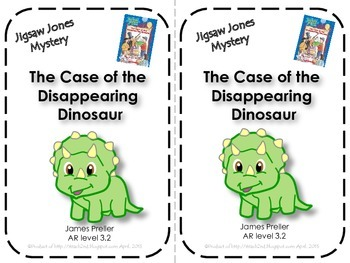 Jigsaw Jones - The Case of the Disappearing Dinosaur