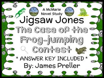 Jigsaw Jones: The Case of the Frog-jumping Contest (James Preller) Novel Study